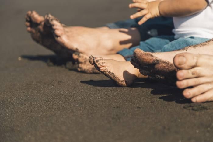 sandalias playa bebe niña el corte ingles