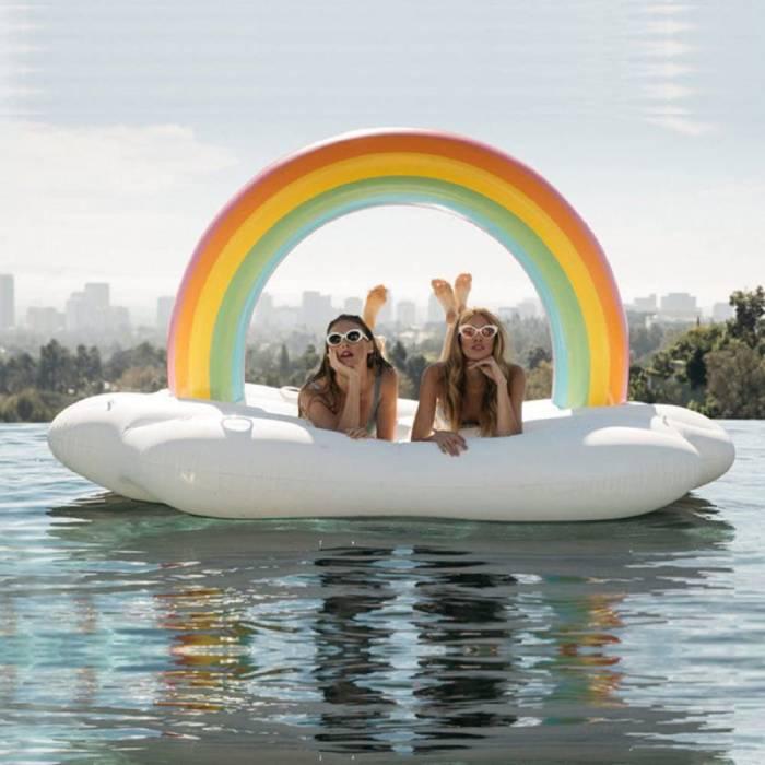 arco iris flotador