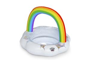 flotador forma arcoiris