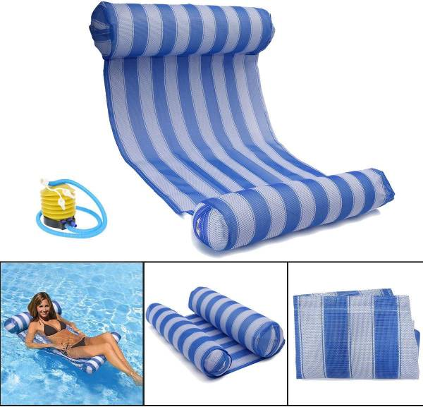 hamaca inflable piscina