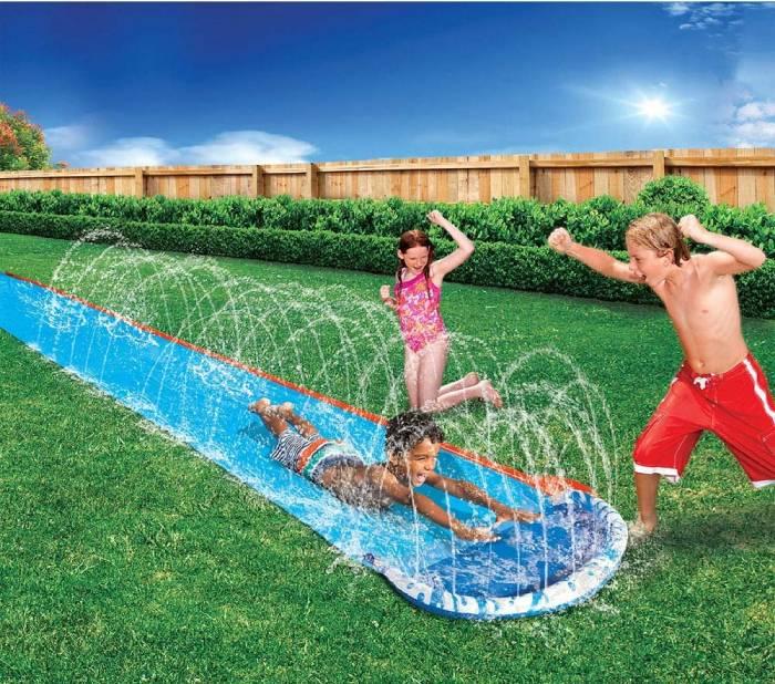 tunel agua juego niños