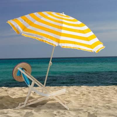 silla madera playa comprar