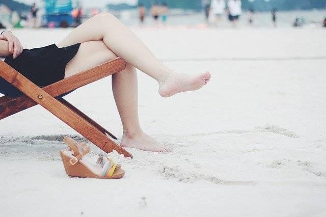 silla niñas plegable playa
