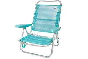 silla playa aluminio