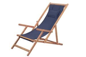 silla plegable madera mar