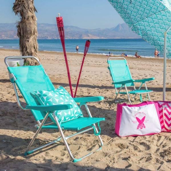silla playa plegable