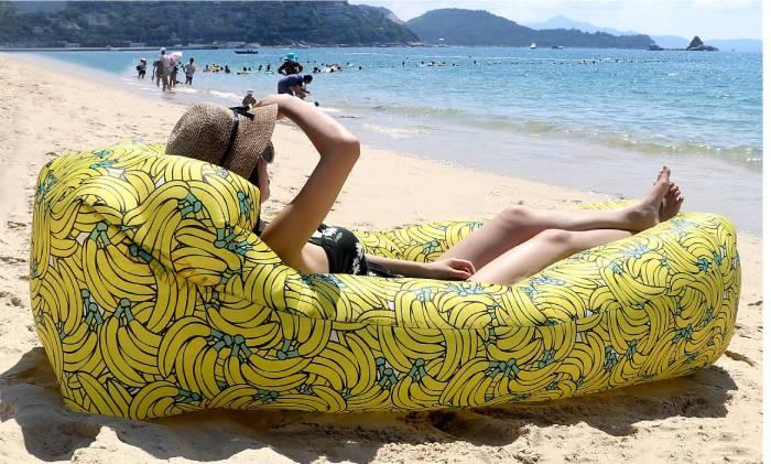 sofa playa inflable